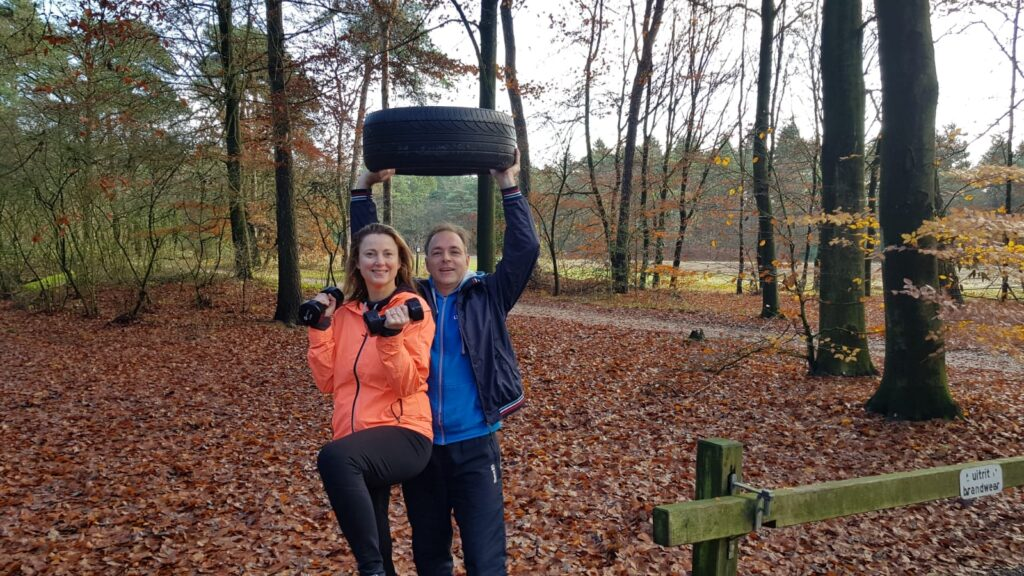 Personal training buiten Driebergen
