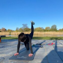 Personal training in het park1