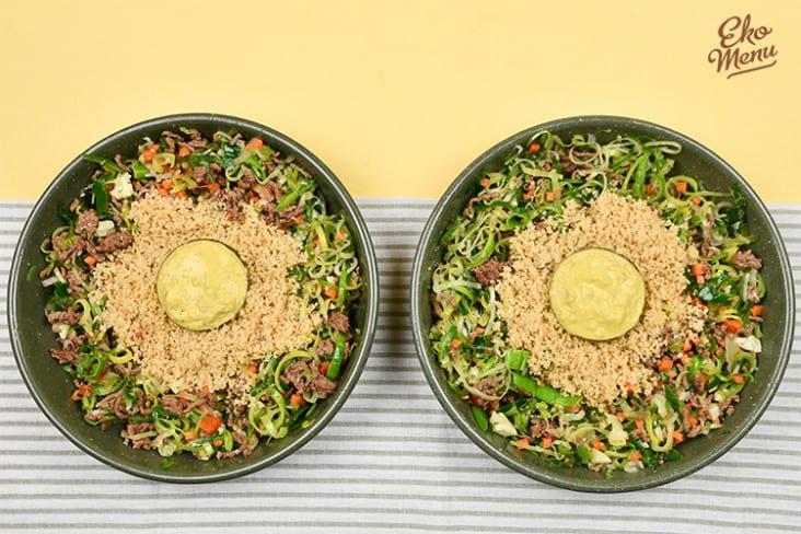 Supersnelle couscous met gehakt