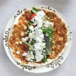 Turkse Pizza met Feta