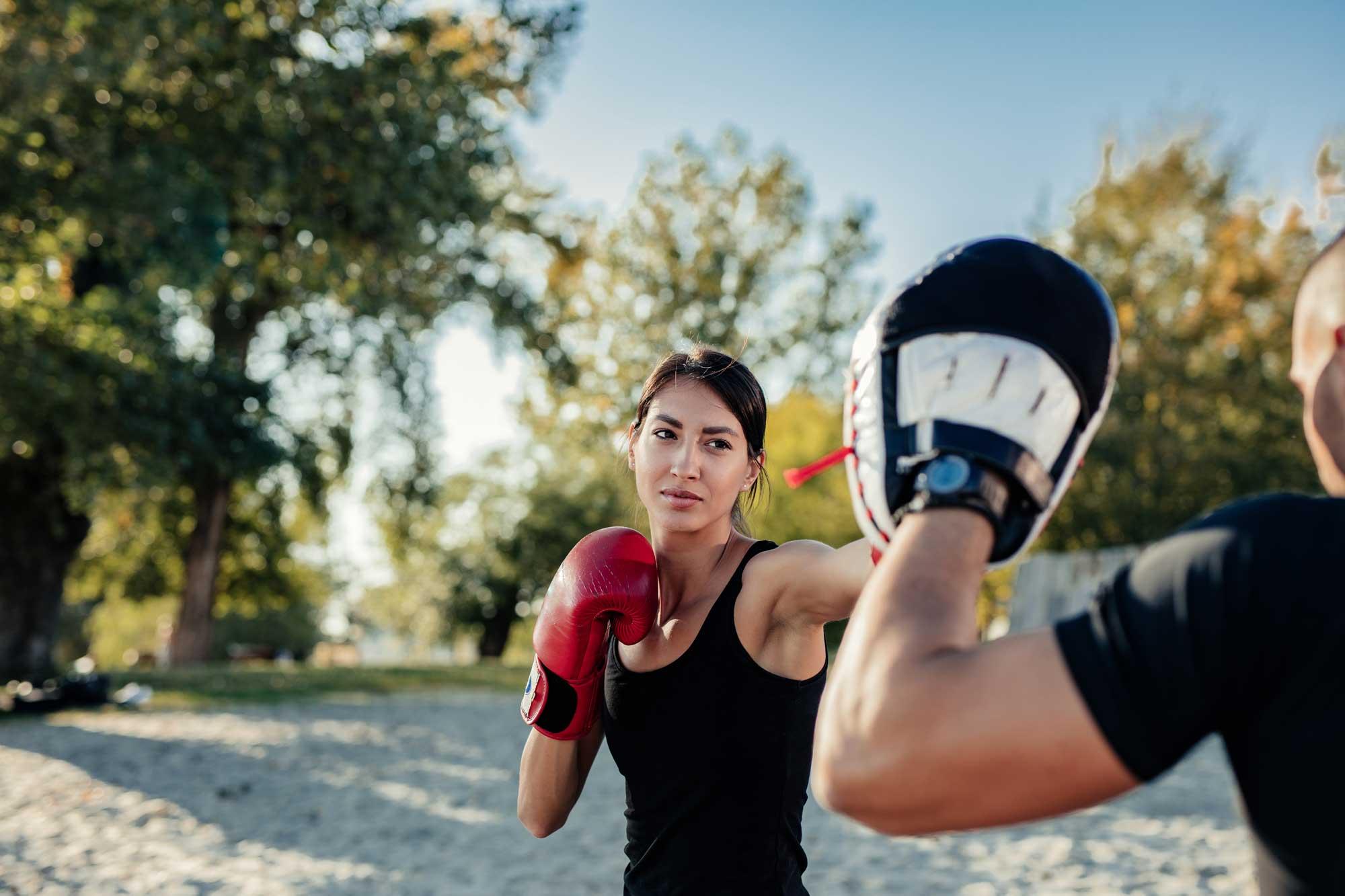 Personal Boxing aan huis